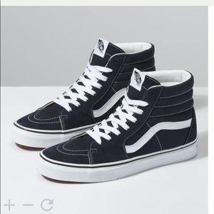 SK8-HI Black Vans